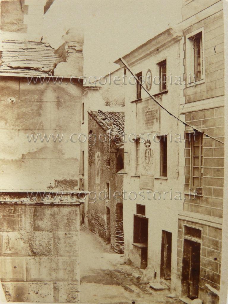 1 Casa natale di C. Colombo sec. XIX